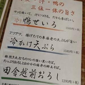 暑いときには、サラッとそばをすすりたい!美味しいお蕎麦を♪ぐらの@ふじみ野