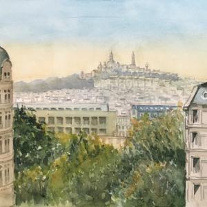 Collines de Montmartre (Parc Butt-Chaumont)
