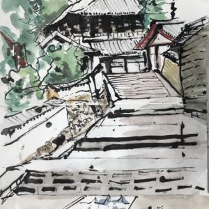 奈良(二月堂と手向山八幡宮)