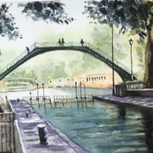 サンマルタン運河(仏)