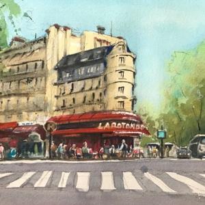 パリのカフェ(その3:La Rotonde )