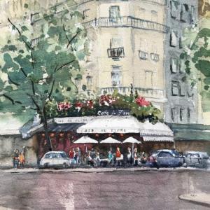 パリのカフェ(その3:Cafe de Flore )