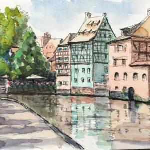 ストラスブールにて(A Strasbourg)