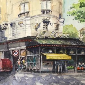 パリのカフェ(その5:Le Dome)