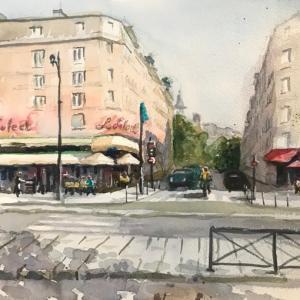 パリのカフェ(その6:Le Select)