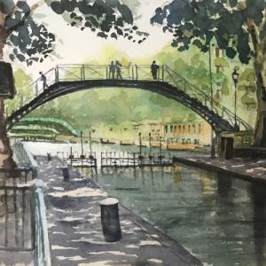 サン・マルタン運河(Canal Saint-Martin)再び