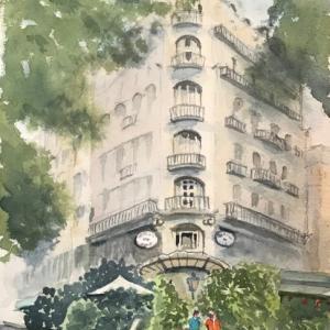 パリのカフェ(その8:La Closerie des Lilas)