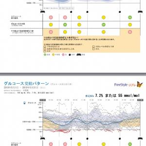 ②通院10月☆リブレグラフによる結果検証