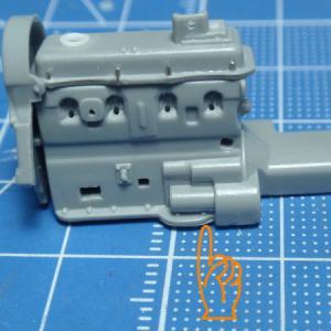 GOLF Mk1 製作記 エンジン修正の続き