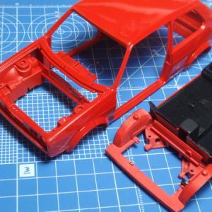 GOLF Mk1 製作記 エンジンルームパイピング
