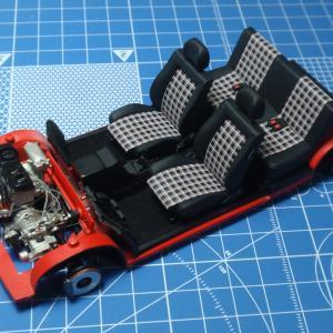 GOLF Mk1 製作記 内装仕上