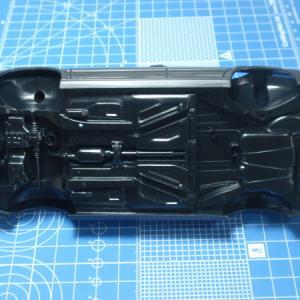 VW GOLF3製作記 ボディーシャシー合体調整