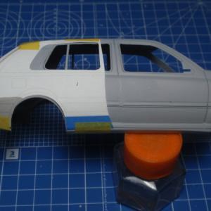 VW GOLF3 製作記 3Door