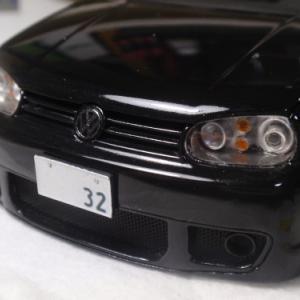 GOLF Mk4 R32 製作記 ナンバープレート