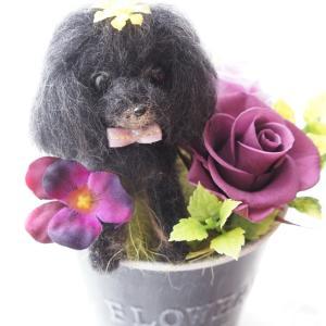 ペットのお供え花(プードル)