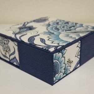 4面引き出しの箱とIDケース(生徒さん作品)