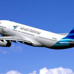 ガルーダインドネシア航空さん・・・