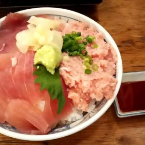 マグロ三色丼