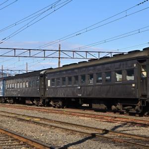 2019年12月14日 大井川鉄道(1) 新金谷の在来形客車など