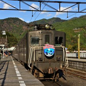 2019年12月14日 大井川鉄道(3) 「ELかわね路」 オハフ33 215 乗車(上り)