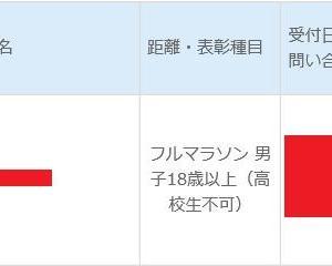 第14回 湘南国際マラソン 出走決定