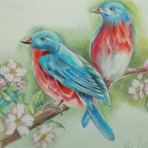 ★★「青い鳥」麻痺も少し回復しました