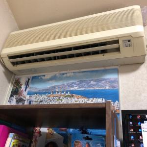 エアコンを入れ替え