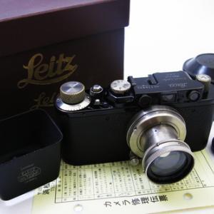 修理完成:ライカ DII 黒+ニッケルズマール 5cmF2