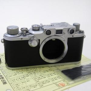 修理完了: ライカ IIIC 段付き #38万台 Leica IIIc Wartime model