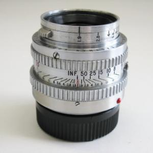 エクトラ用エクター50mmF1.9・ライカM用へ改造品