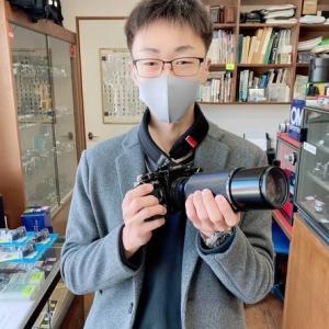 フィルムカメラ男子