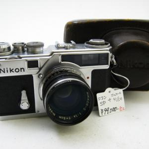 Nikon SP + Nikkor5cmF1.4 / ニコンSP+ニッコール5cmF1.4