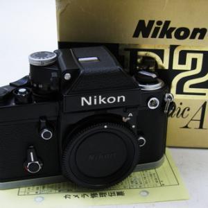 修理完了:ニコンF2 フォトミックA 黒#777万台