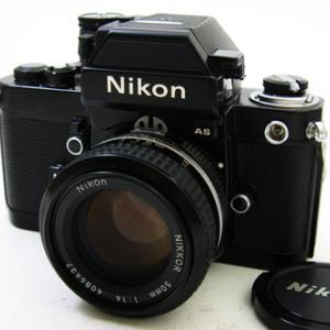 ニコンF2 フォトミックAS 黒#776万台 + Ai ニッコール50mmF1.4