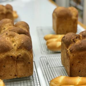 パン単発レッスン もち麦食パン&アマンドフィセル