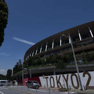 TOKYO 2020 ブルーインパルス