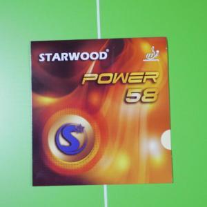 日本製スポンジを採用 食い込みの良さと弾みが特徴「STARWOOD POWER58」