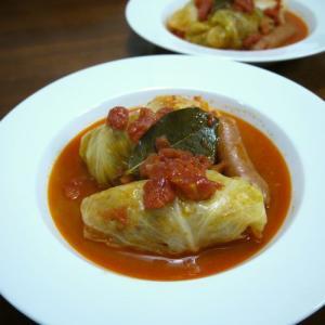 【簡単レシピ】我が家のロールキャベツ♪トマトスープ味♪
