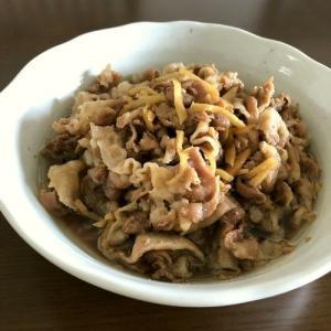 【レシピ動画】豚バラ肉と生姜の甘辛煮♪