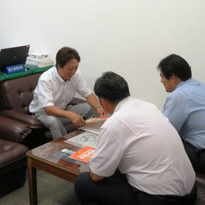◆関西電力来訪