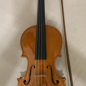 イタリアンバイオリンとフレンチボウ