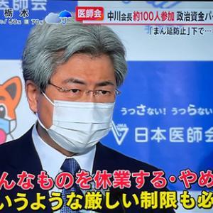 全国と東京の医師会代表者に辟易とする。彼らは本当に我々の味方なのか?