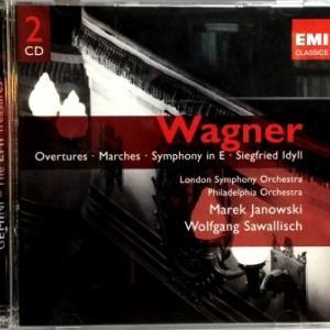 ワーグナーの劇的な半生 - 歌劇「妖精 」序曲 マレク・ヤノフスキ / ロンドン交響楽団(EMI)盤で聴く。