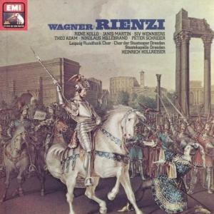 ワーグナーの劇的な半生 - 歌劇「リエンツィ 」(ルネ・コロ他、ホルライザー指揮 / ドレスデン・シュターツカペレ / EMI盤 )を聴く。