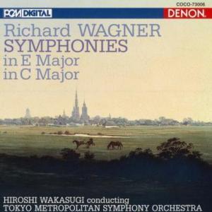 ワーグナーの劇(激)的な半生 - 交響曲 ハ長調 WWV.29 若杉 弘/ 東京都交響楽団(DENON)盤で聴く。