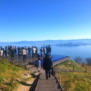 琵琶湖テラスから