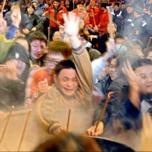 台湾の初詣