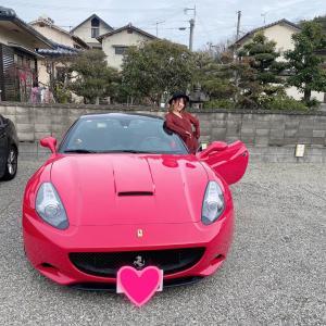 フェラーリ買いました!