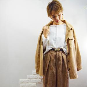 しまむらのシャツで秋コーデ♪&全身コーデ考えてみました♪