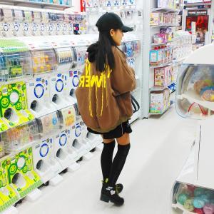 鬼滅の刃グッズ探索&娘コーデ☆しまむら、300円均一、ラブトキシック、ANAP♪子供服をピックアップしてみました♪